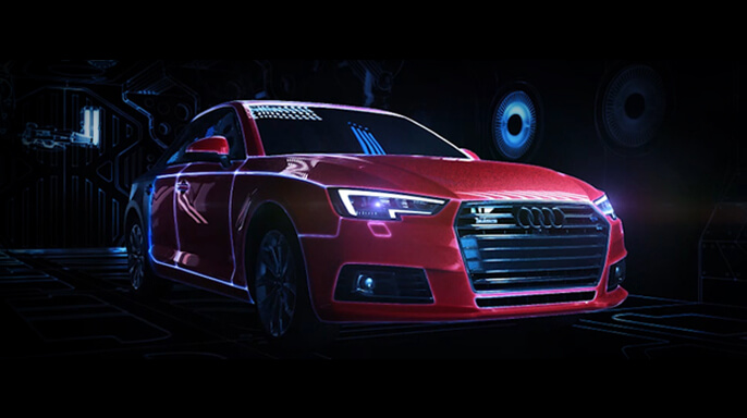 AUDI A4-NEW CAR PRESENTATION