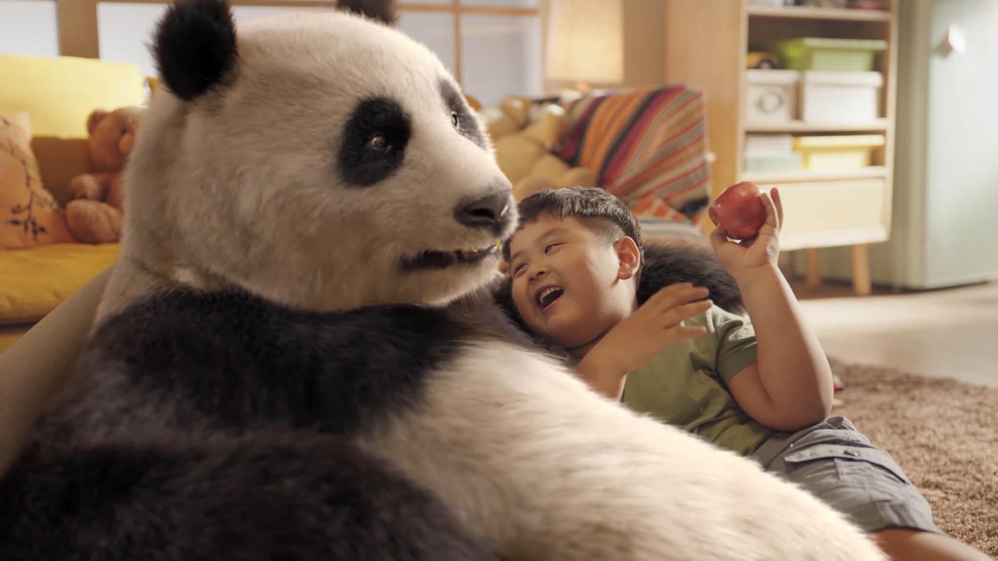 伊利QQ星-熊猫篇